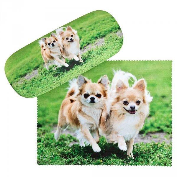 Chihuahuas - etui na okulary Von Lilienfeld