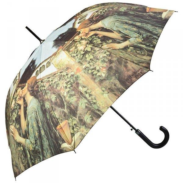 The Soul of the Rose - parasol długi ze skórzaną rączką