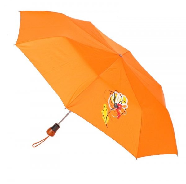 Kwiatek - parasolka składana półautomat Airton 3631