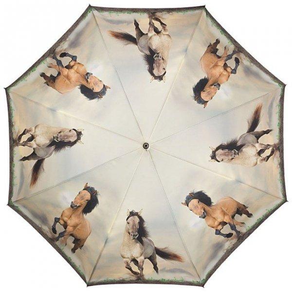 Dzikie konie - parasolka składana