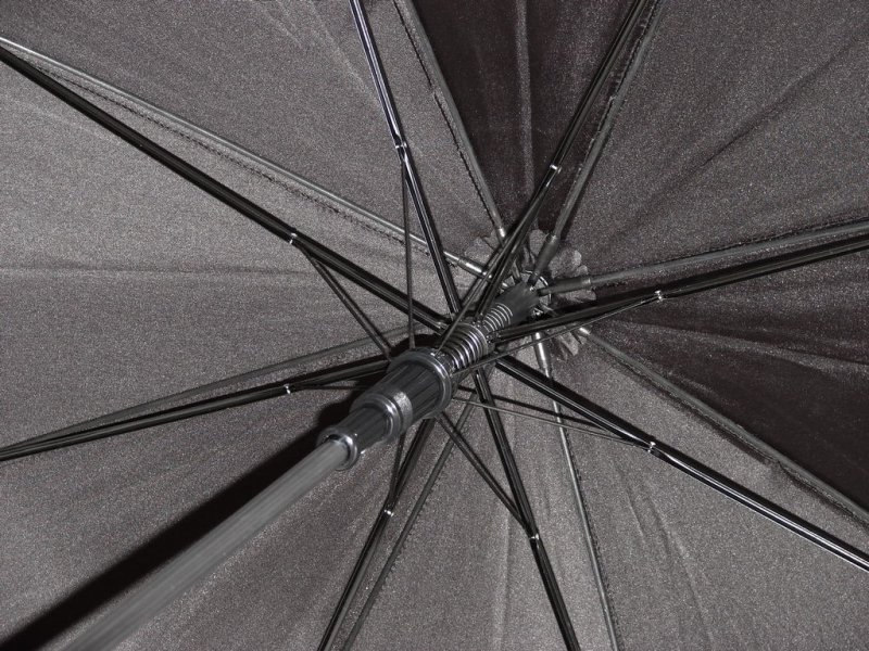 Black Satin elegancki parasol damski DA131