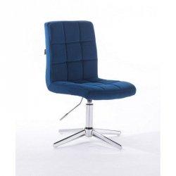 Pokrowiec kosmetyczny na krzesełko Cameliawelur jasny brąz nr.28