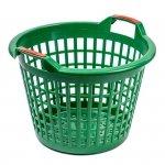 Kosz ażurowy ogrodniczy 35l kolorowy (475*320mm wys.330mm)