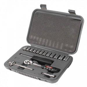 Zestaw nasadek szt.16, cv, 1/4 4-13mm   proline