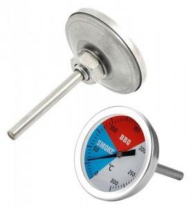 AG254D Termometr do wędzarni grilla 2w1