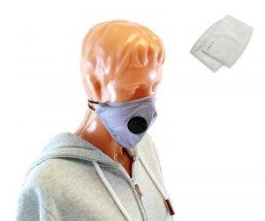 AG303F Maska tekstylna pm 2.5 z zaworem