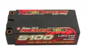 5100mAh 7.6V 130C Redline Gens Ace