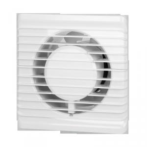 Wentylator łazienkowy 100mm, natynkowy z wyłącznikiem czasowym