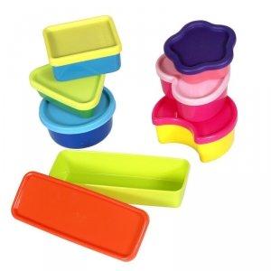 Zestaw 7 małych pojemników Plast Team Tiny