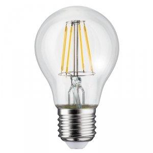 Żarówka Maclean, Filamentowa LED E27, 4W, 230V, WW ciepła biała 3000K, 400lm, Retro edison ozdobna A60, MCE266