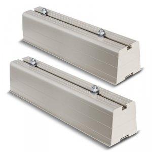 Uchwyt podstawa mocowanie do klimatyzatora Maclean, długość ramienia 450mm, PVC, kpl 2szt, do 100kg, MC-863