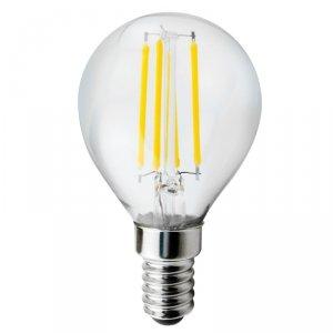 Żarówka Maclean, Filamentowa, LED E14, 4W, 230V, WW ciepła biała 3000K, 400lm, Retro edison ozdobna G45, MCE281