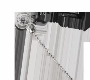 PRK0053 Złącze przełącznik łańcuszkowy 303 srebrny