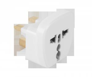 Złącze AC wtyk UK- gn. uniwersal (QZ36)