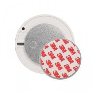 Magnetyczna płytka montażowa do detektorów dymu, czadu i gazu