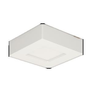 LETI LED 9W, oprawa downlight, natynkowa, kwadratowa, 480lm, 4000K, biała, wbudowany zasilacz LED