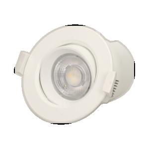 SARMA LED 9W, oprawa downlight, podtynkowa, ruchoma, 720lm, 4000K, wbudowany zasilacz LED
