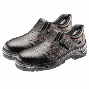 Sandały robocze S1 SRC, skórzane, rozmiar 39