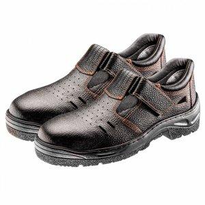 Sandały robocze S1 SRC, skórzane, rozmiar 37