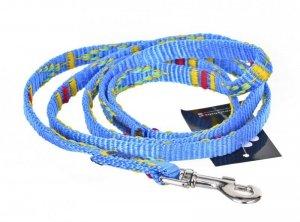 Smycz ozdobna - 10-130 cm Niebieska