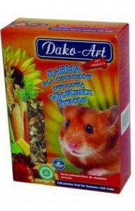 DAKO-ART Vit&Mix Fructo - owocowy pokarm dla chomików 500g