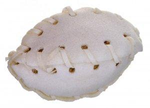 MACED Przysmak dla psa - rugby białe 7,5cm 1szt.