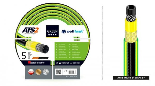 """Wąż ogrodowy Cellfast Green ATS2 1/2"""" 50m"""