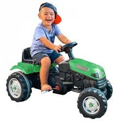 WOOPIE Traktor na Pedały Farmer GoTrac Ciągnik Ciche Koła