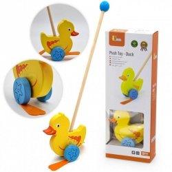 Viga Toys Drewniany Pchacz Kaczuszka
