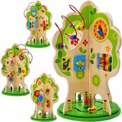TOOKY TOY Duża Zabawka Edukacyjna Activity Tree  Wielofunkcyjne Drzewo
