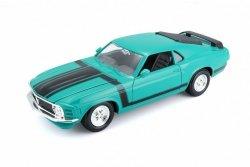 Model metalowy Ford Mustang Boss 302 zielony