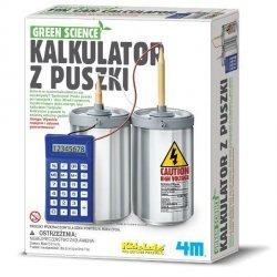 Green Science kalkulator z puszki