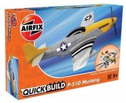 Model plastikowy QUICKBUILD Mustang P-51D