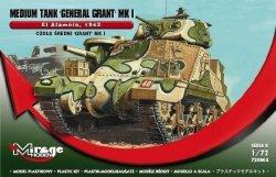 Model plastikowy Czołg rant MK.I El Ala mein