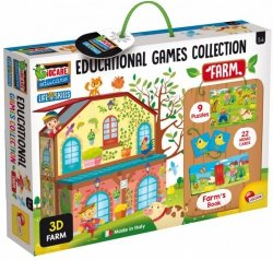 Kolekcja gier edukacyjnych Na farmie