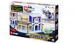City Deluxe Set 4 Policja ulica burger