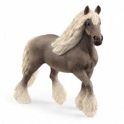 Figurka Koń srebrna klacz rasy Dapple