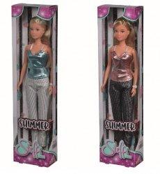 Lalka Steffi w błyszczącym kostiumie, 2 rodzaje
