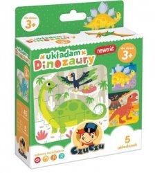Puzzle Układam dinozaury