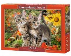 Puzzle 1500 elementów Kociaki
