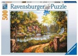 Puzzle 500 elementów Domek