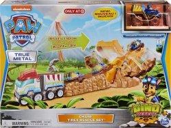 Zestaw tor i pojazd Psi Patrol  T-rex