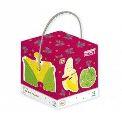 Dodo Puzzle 2-3-4 elementy Owoce i warzywa