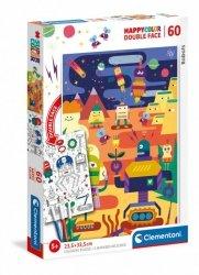 Puzzle 60 elementów - Robot