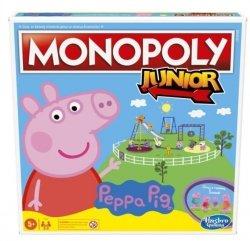 Monopoly Junior Świnka Peppa