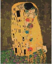 Obraz Malowanie po numerach - Pocałunek