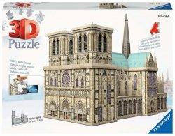 Puzzle 324 elementy 3D Notre Dame