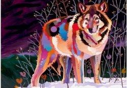 Puzzle 1000 elementów Cenne zwierzęta, Wilk