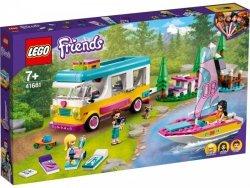 Klocki Friends 41681 Leśny mikrobus kempingowy i żaglówka
