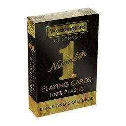 Karty Waddingtons No.1 Black and Gold